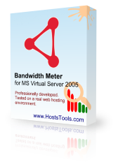 ms virtual server 2005 bandwidth meter