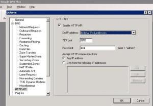 Simple DNS HTTP API